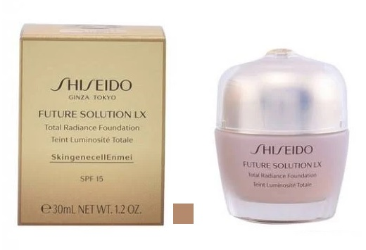 SHISEIDO FUTURE SOLUTION LX TOTAL RADIANCE FOUNDATION SPF 15 30 ML COLOR 2 ROSE