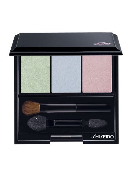 SHISEIDO LUMINIZING SATIN EYE COLOR TRIO BL215 STATIC
