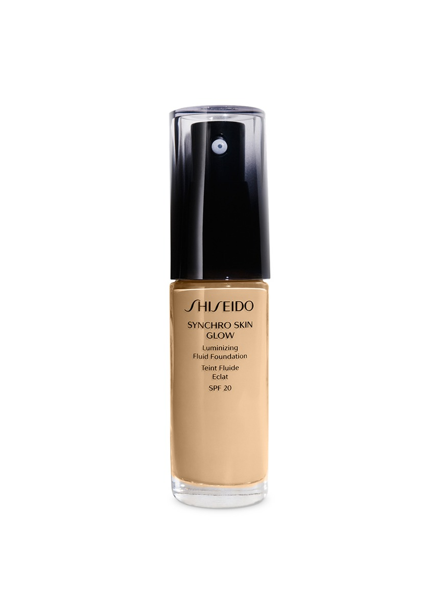 SHISEIDO SYNCHRO SKIN GLOW LASTING FOUNDATION G2 GOLDEN 2 30 ML
