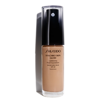 SHISEIDO SYNCHRO SKIN GLOW LASTING FOUNDATION R5 ROSE 30 ML