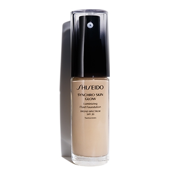 SHISEIDO SYNCHRO SKIN GLOW LASTING FOUNDATION R3 ROSE 30 ML
