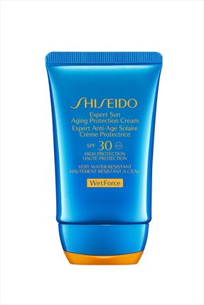 SHISEIDO WETFORCE SPF 30 EXPERT SUN PROTECTION FACE 50 ML