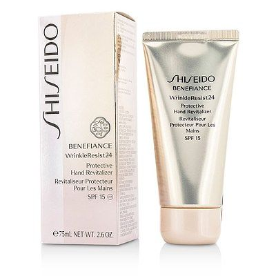 SHISEIDO BENEFIANCE WR 24 PROTECTIVE HAND REVITALIZER 75 ML.