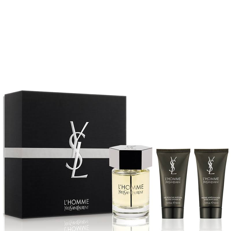 YSL LA NUIT DE L´HOMME EDT 100 ML VP. + A/S 50 ML + GEL 50 ML SET REGALO