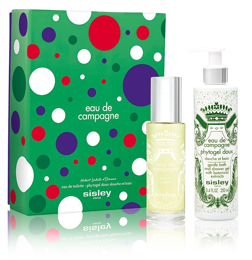 SISLEY EAU DE CAMPAGNE EDT 100 ML + GEL 250 ML SET REGALO
