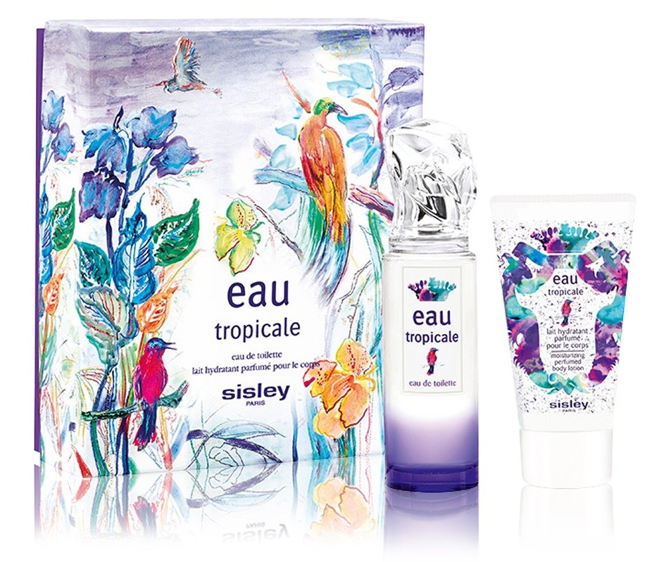 SISLEY EAU TROPICALE EDT 50 ML + B/L 50 ML SET REGALO