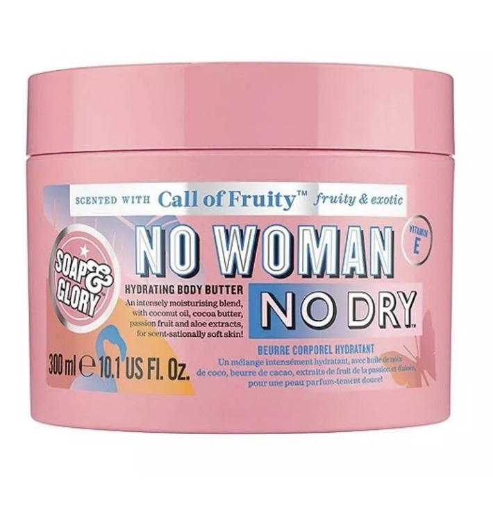 SOAP & GLORY CREMA HIDRATANTE NO WOMAN NO DRY 300ML