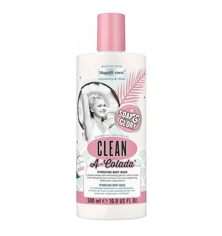 SOAP & GLORY GEL DE BAÑO CLEAN A COLADA 500ML