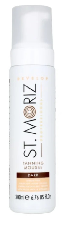 ST MORIZ AUTOBRONCEADOR MOUSSE DARK 200ML