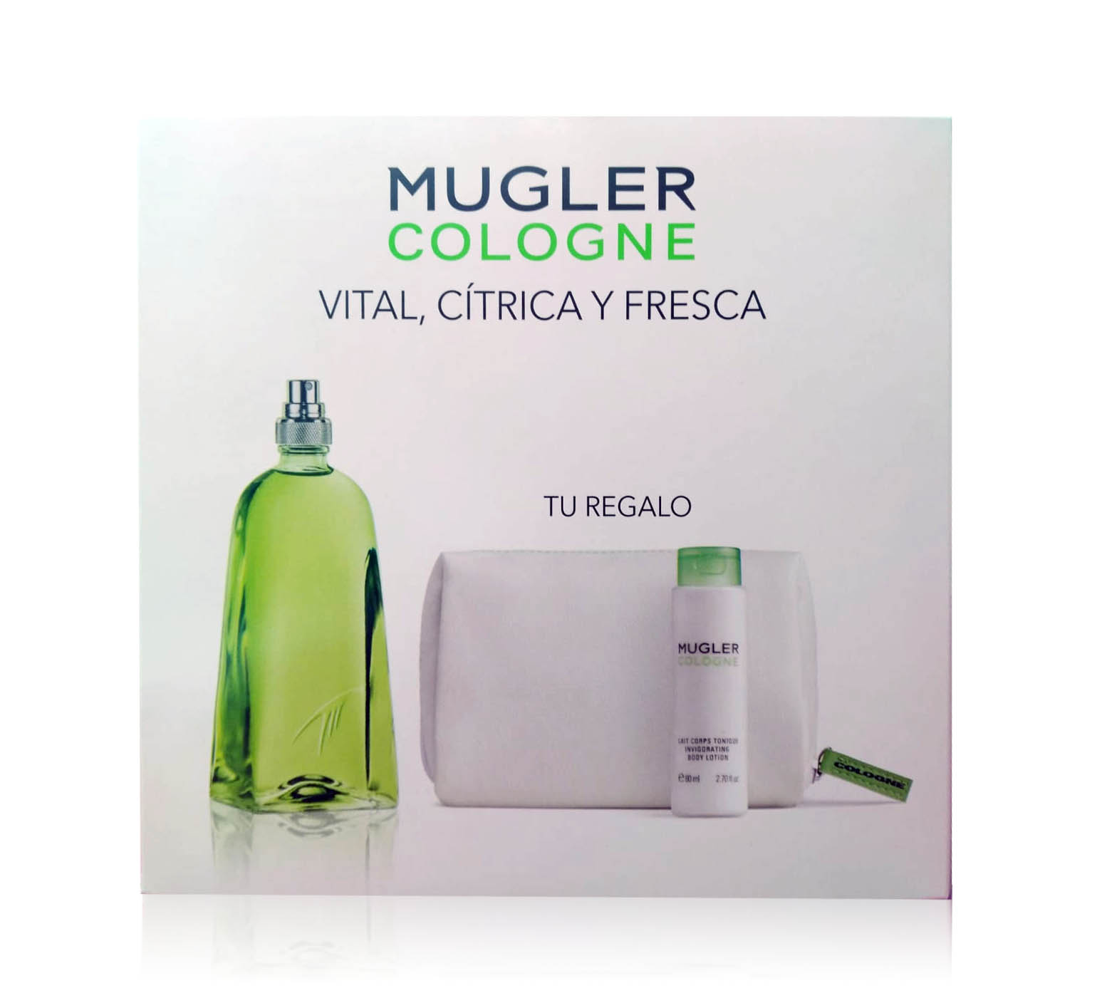 THIERRY MUGLER COLOGNE EDT 300 ML + B/L 80 + NECESER ML SET REGALO