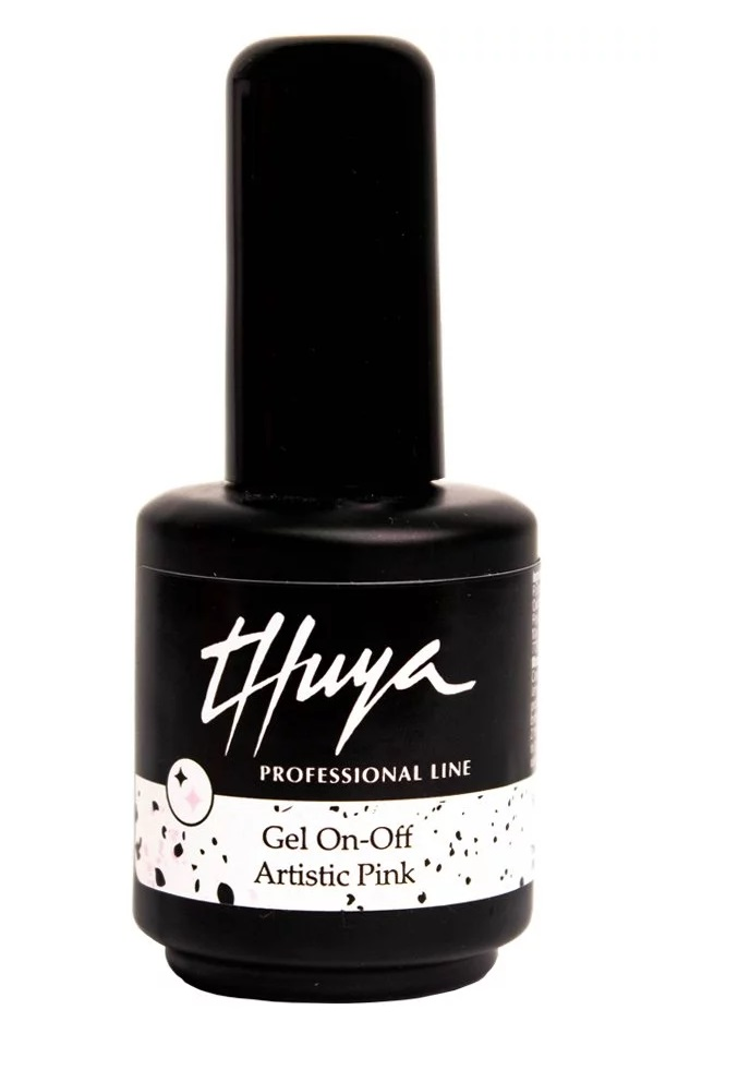 THUYA ESMALTE PERMANENTE GEL ON-OFF ARTISTIC PINK 14 ML