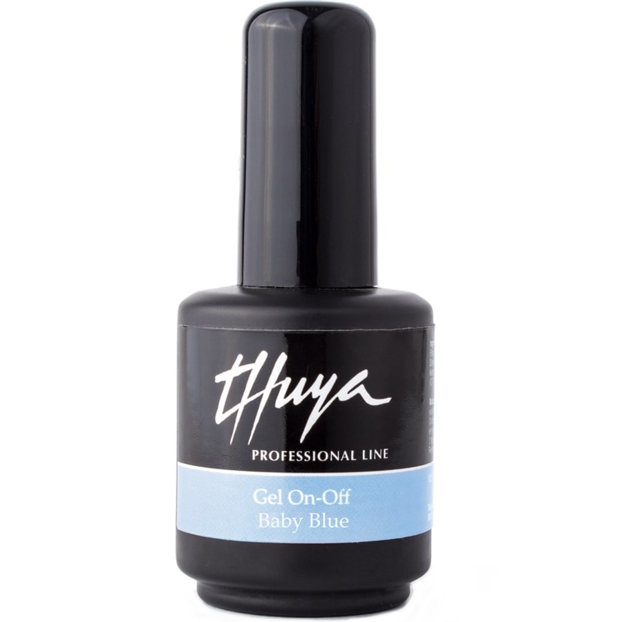THUYA ESMALTE PERMANENTE GEL ON-OFF BABY BLUE 14 ML