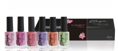 THUYA KIT ESMALTES DELUXE CANDY 6 UNIDADES