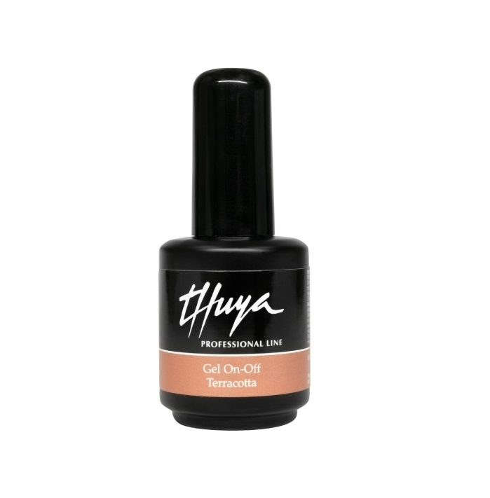 THUYA ESMALTE PERMANENTE GEL ON-OFF TERRACOTTA 14 ML