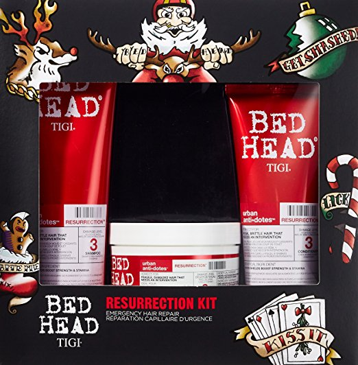 TIGI RESURRECTION SHAMPOO 250 ML +CONDITIONER 200 ML + MASK 200 ML SET REGALO