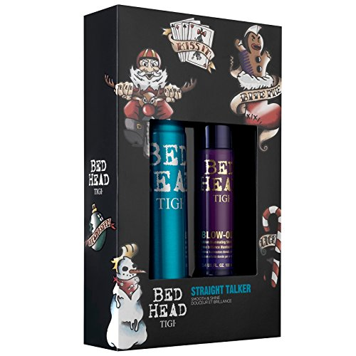 TIGI STRAIGHT TALKER BLOW OUT 100 ML + MASTERPIECE 340 ML SET REGALO