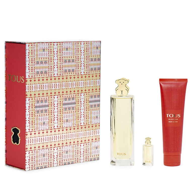 TOUS EDP 90 ML + BODY LOTION 150 ML + MINIATURA 4 ML SET