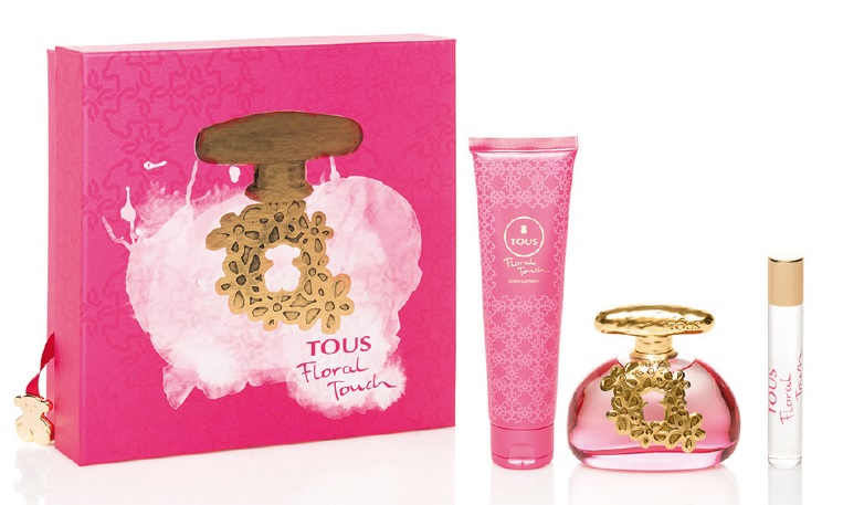 TOUS FLORAL TOUCH EDT 100 ML + B/LOC 100 ML + EDT 10 ML SET REGALO