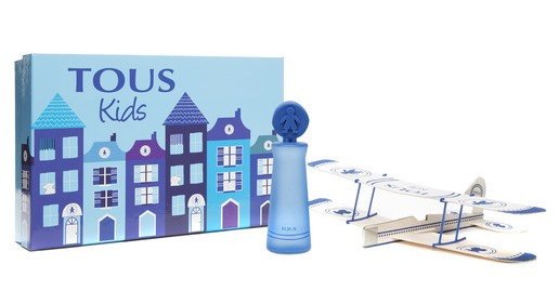 TOUS KIDS BOY EDT 100 ML + AVION DE MADERA SET REGALO