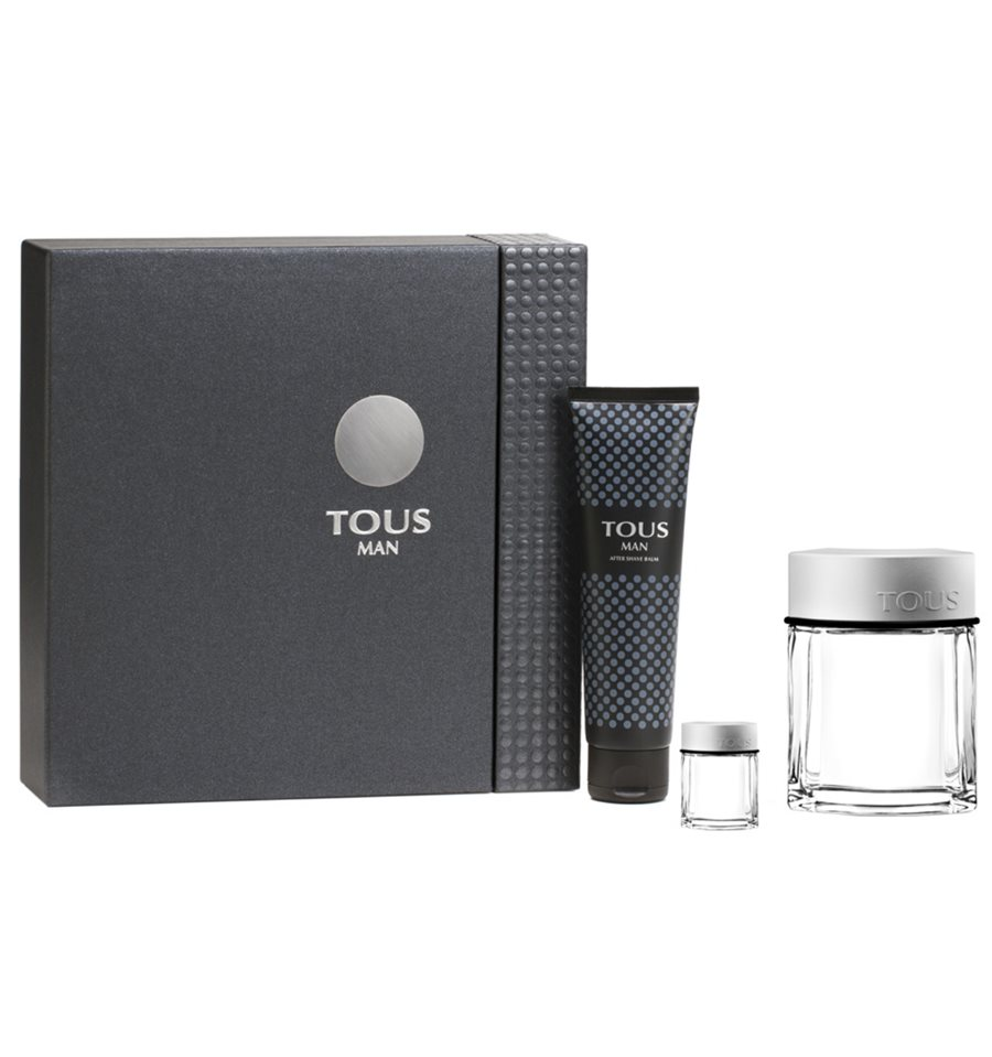 TOUS MAN EDT 100 ML + A/S 150 ML + MINI 4,5 ML SET REGALO