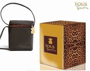 TOUS TOUCH EDT 100 ML. VAPO + BOLSO FELINO SET