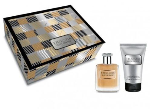 TRUSSARDI RIFLESSO UOMO EDT 50 ML + S/G 100 ML SET REGALO