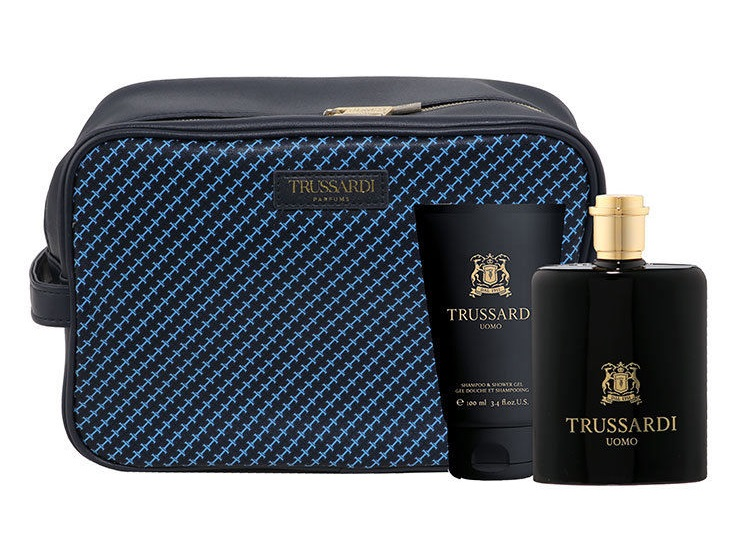 TRUSSARDI UOMO EDT 100 ML VAPORIZADOR + SHOWER GEL 100ML SET REGALO