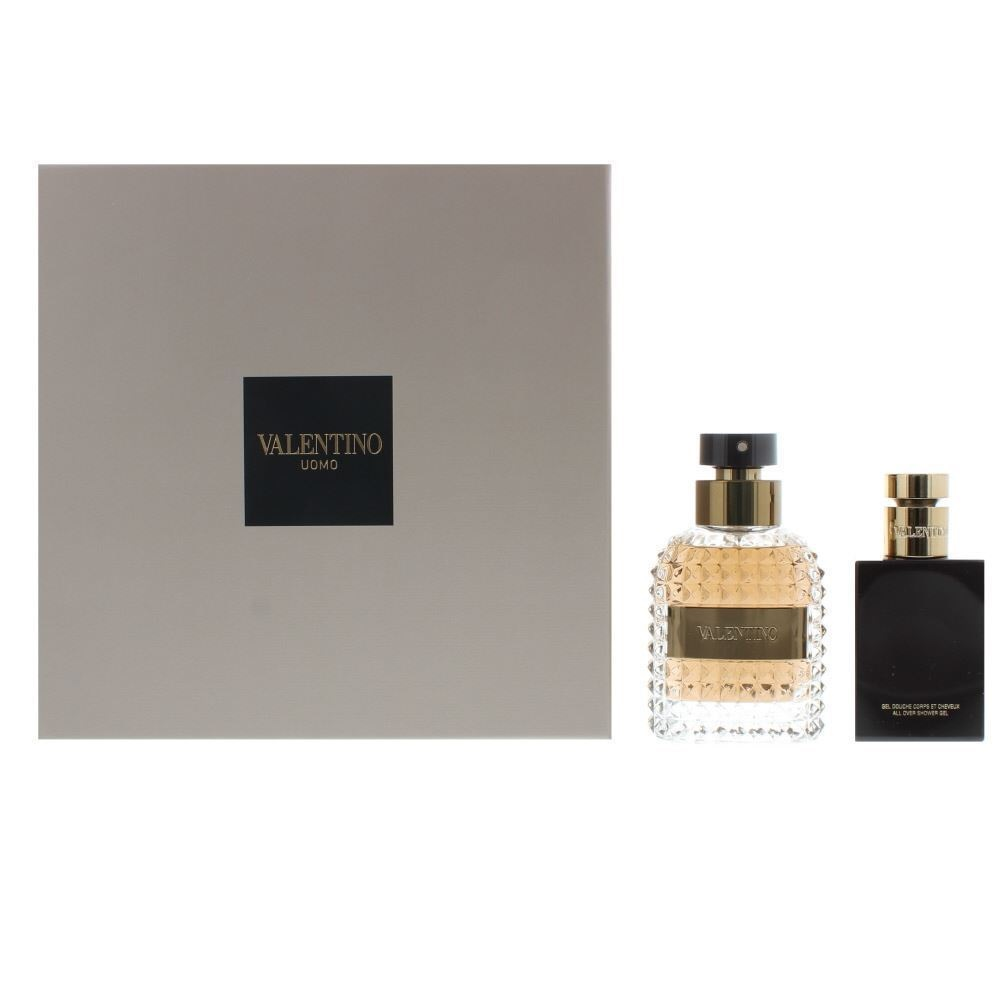 VALENTINO UOMO EDT 100 ML + AFTER SHAVE 100 ML SET REGALO