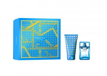 VERSACE MAN EAU FRAICHE EDT 30 ML + S/GEL 50 ML SET REGALO