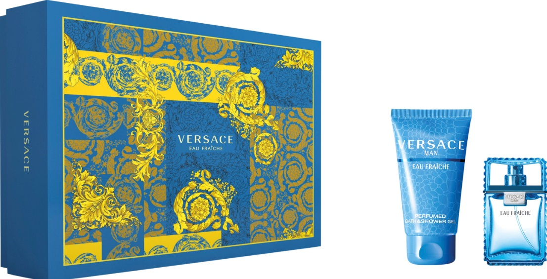 VERSACE MAN EAU FRAICHE EDT 30 ML + SHOWER GEL 50 ML SET REGALO