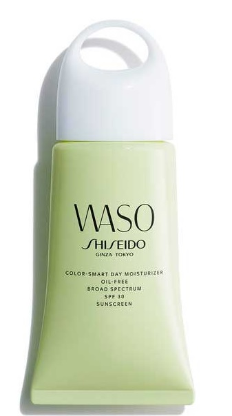 SHISEIDO WASO COLOR SMART DAY MOISTURIZER OIL FREE SPF30 50 ML