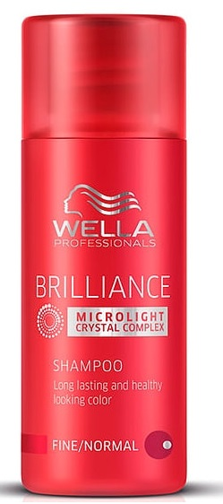 WELLA PROFESSIONAL COLOR BRILLIANCE CHAMPU CABELLO COLOREADO/FINO/NORMAL 50ML