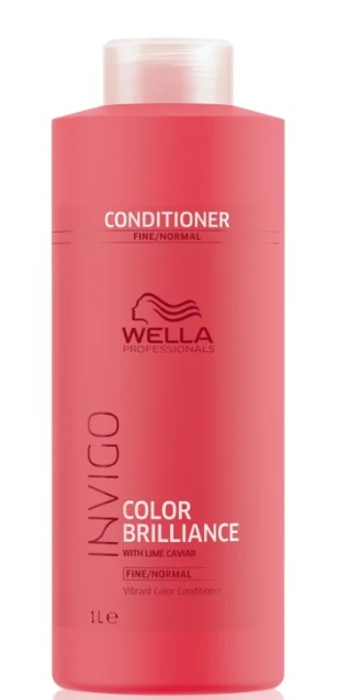 WELLA PROFESSIONAL COLOR BRILLIANCE ACONDICIONADOR PARA CABELLO FINO/NORMAL 1000 LITRO