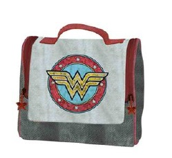 WONDER WOMAN BOLSO DOBLE CREMALLERA