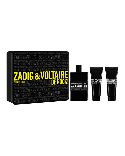 ZADIG & VOLTAIRE THIS IS HIM EDT 100 ML + 2x SHOWER GEL 75 ML SET REGALO