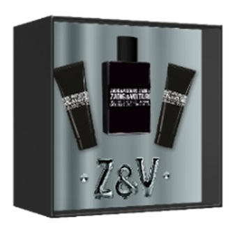 ZADIG & VOLTAIRE THIS IS HIM EDT 50 ML + S/GEL 50 ML + S/GEL 50 ML SET REGALO