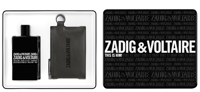ZADIG & VOLTAIRE THIS IS HIM EDT 100 ML + CARTERA Z&V SET REGALO