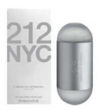 CAROLINA HERRERA 212 EDT 100 ML VP.
