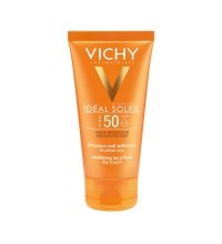 VICHY IDEAL SOLEIL EMULSION TACTO SECO SPF 50 50 ML