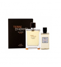 HERMES TERRE D'HERMES EAU INTENSE VETIVER EDT 100 ML + S/GEL 80 ML SET REGALO