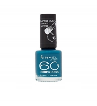 RIMMEL LONDON 60 SECOND OUT OF THE BLUE 844 8ML