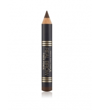 MAX FACTOR REAL BROW FIBER PENCIL 004 DEEP  BROWN