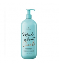 SCHWARZKOPF MAD ABOUT CURLS LOW FOAM CLEANSER CHAMPU 1000ML