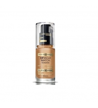 MAX FACTOR MIRACLE MATCH BLUR & NORISH BASE DE MAQUILLAJE 80 BRONZE 30ML