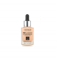 CATRICE BASE DE MAQUILLAJE HD LIQUID COVERAGE 030 SAND BEIGE 30 ML