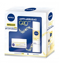 NIVEA Q10 PLUS PACK ANTI-ARRUGAS DÍA 50 ML + SERUM 40 ML