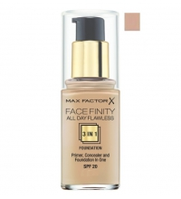 MAX FACTOR MAQUILLAJE FACE FINITY 3 IN 1 FDN 50 NATURAL SPF 20 30 ML