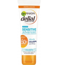 GARNIER DELIAL CREMA FACIAL SENSITIVE ADVANCED FPS50+ 50 ML