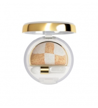 COLLISTAR DOUBLE EFFECT EYESHADOW WET&DRY 23 GOLD WITH WHITE