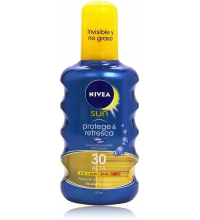 NIVEA SPRAY INVISIBLE PROTEGE & REFRESCA SPF 30 200 ML